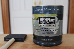 The two-in-one paint and primer.