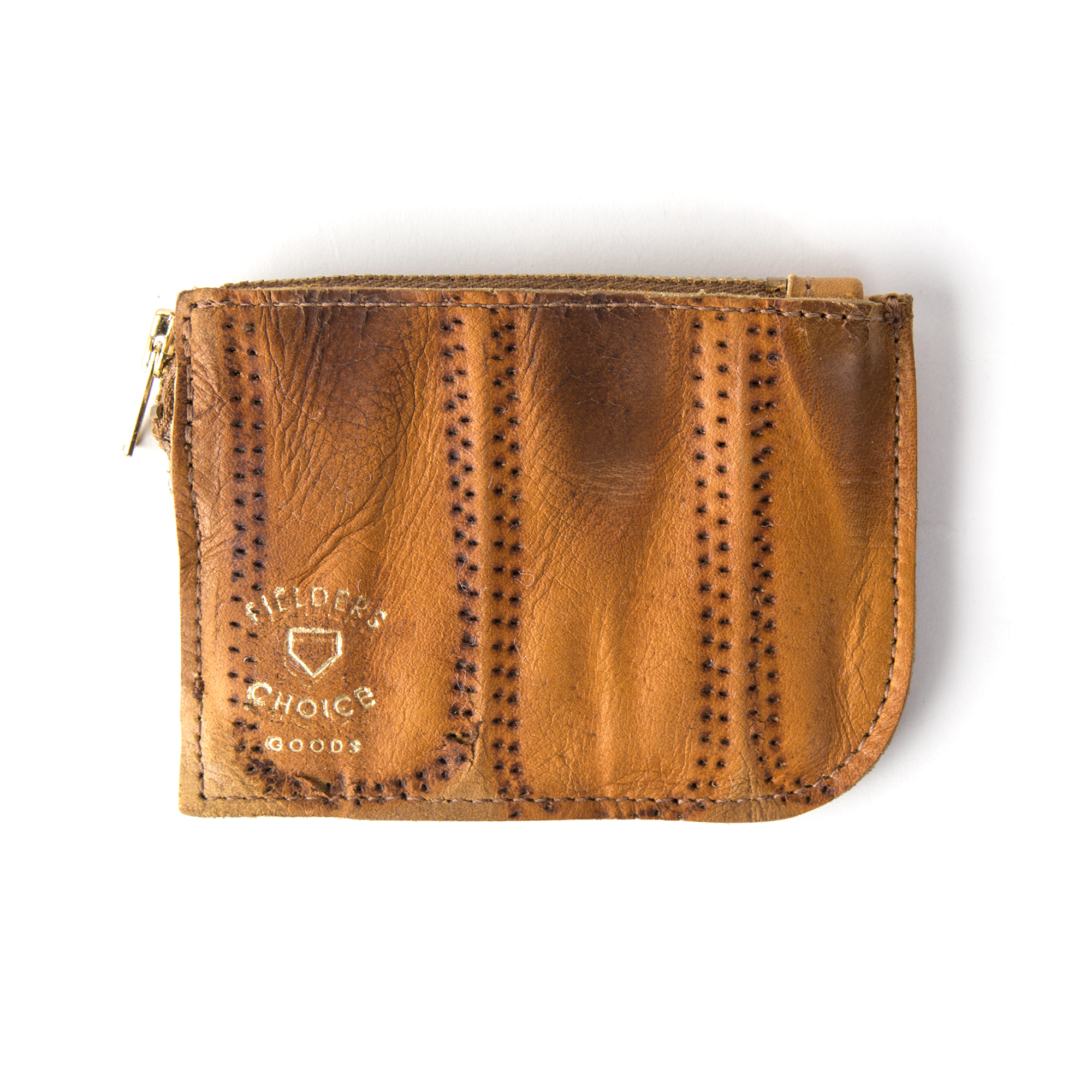 Recycled baseball glove wallet - Fielder S Choice Goods Vintage Baseball Glove Zip Wallet 4 Bespoke Post