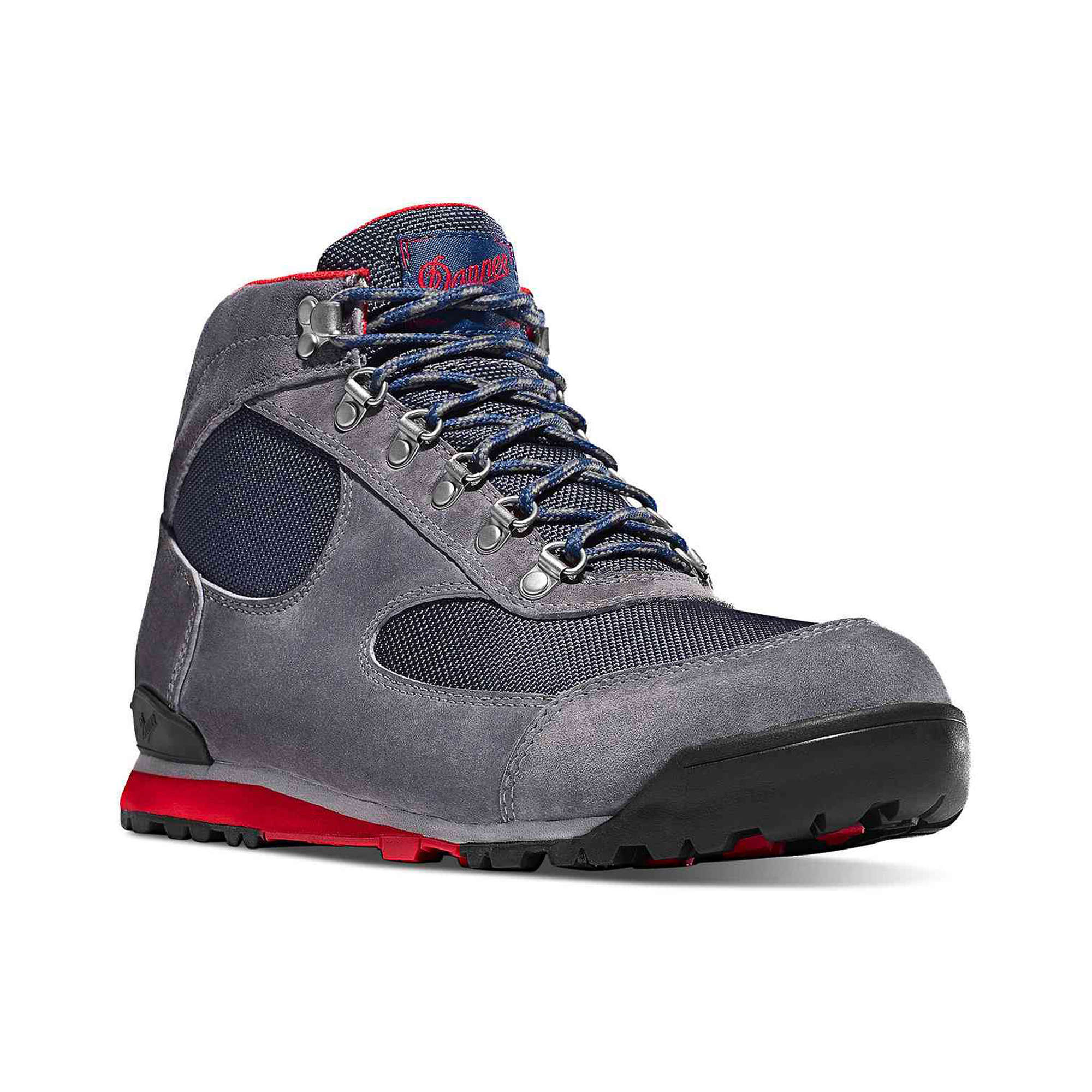 Danner Jag Hiking Boots, Steel Gray/Blue Wing | Bespoke Post