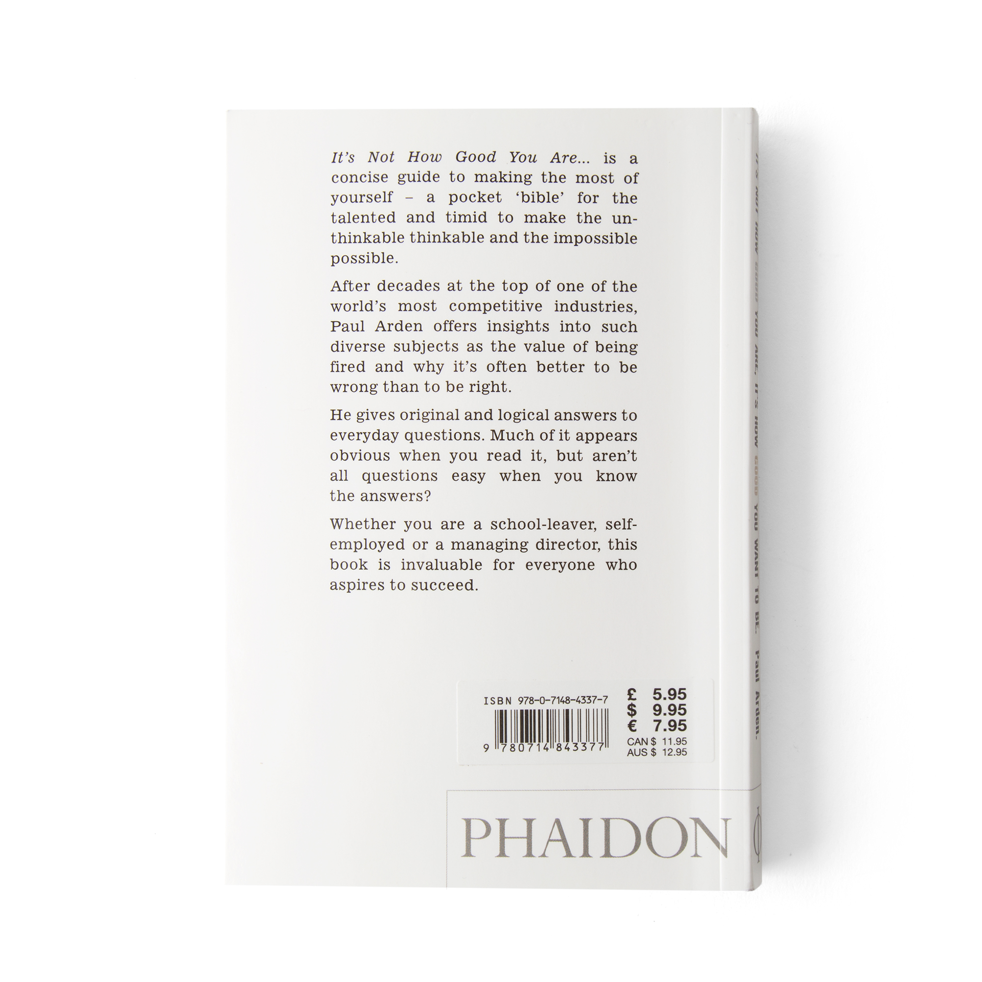 Phaidon its not how good you are its how good you want to be phaidon its not how good you are its how good you want to be bespoke post solutioingenieria Image collections