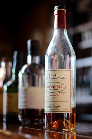 Pappy Van Winkle 12 Year. This stuff, especially the more aged versions, is legendary among bourbon enthusiasts.