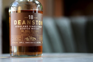 Deanston 18 Year, which is made in the Highlands region of Scotland.