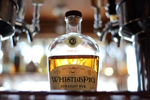 Whistle Pig Rye. This stuff technically originates in Canada, but is bottled here in the States in accordance with the strict production requirements for American straight rye.