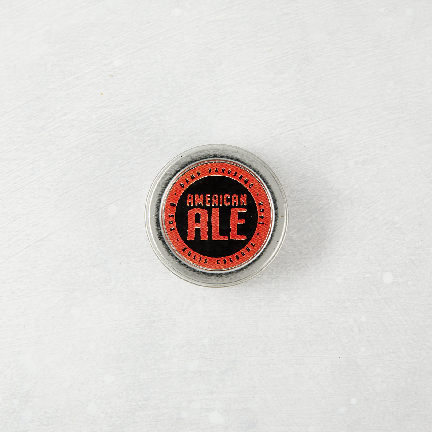 Damn Handsome Grooming Co. Solid Cologne, American Ale