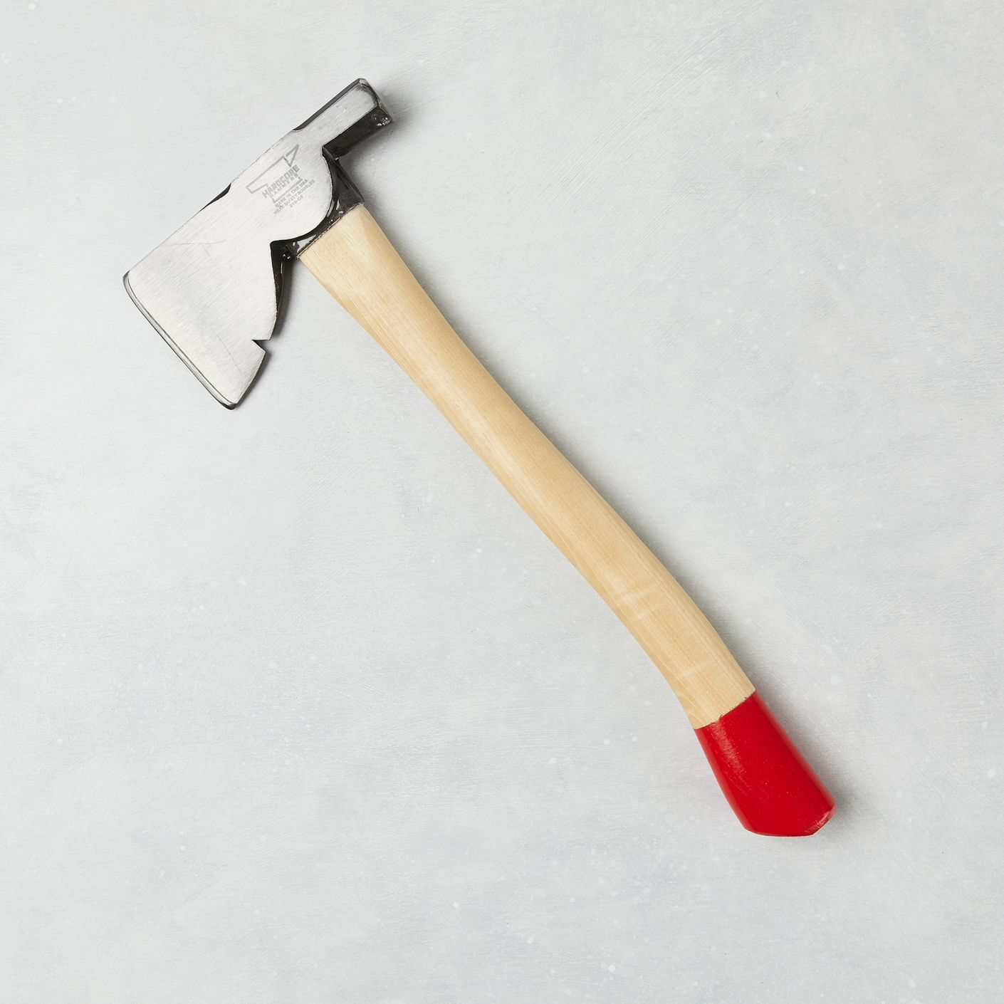 Hardcore Hammers Exclusive Carpenter's Hatchet, Red Dipped