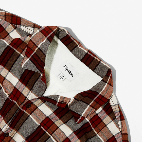 Rhythm Woodsman Flannel Shirt