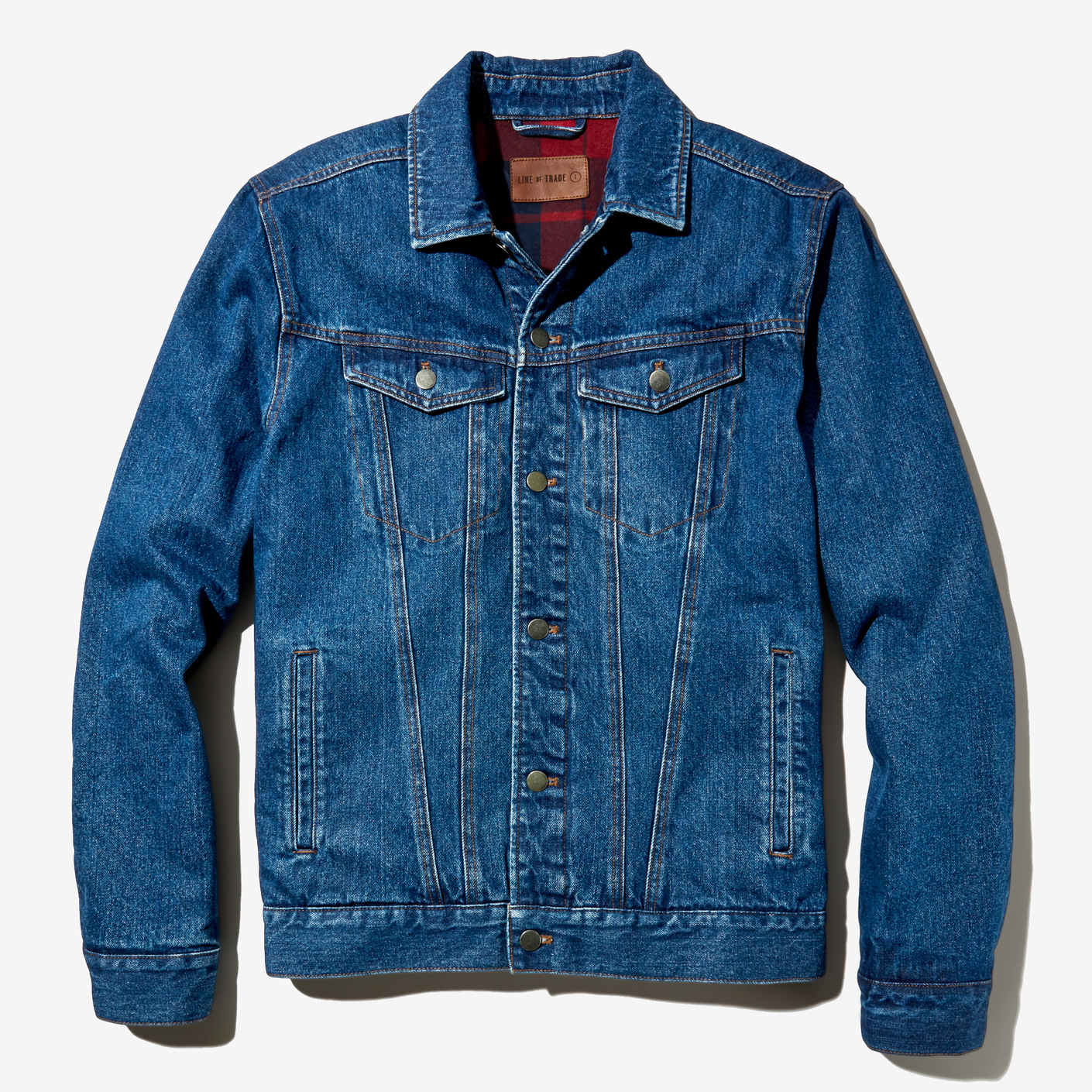 Line of Trade Winterized Denim Trucker Jacket